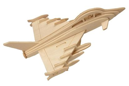 Obrázek 3D puzzle - Eurofighter Typhoon