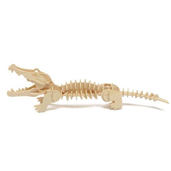 Obrázek z 3D puzzle - krokodýl