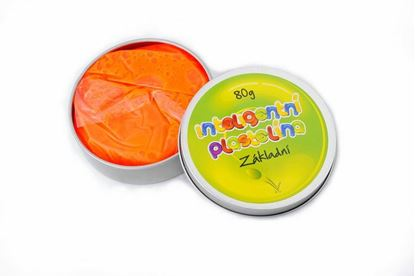 Obrázek Inteligentní plastelína - základní - oranžová