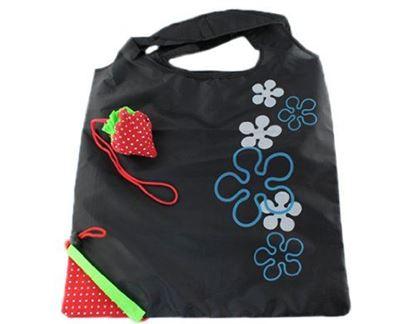 Obrázek Jahůdková nákupní taška - černá
