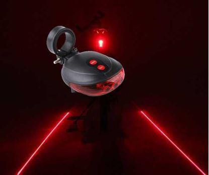 Obrázek Laserové světlo na kolo