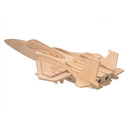 Obrázek 3D puzzle - F-15 - bojové letadlo