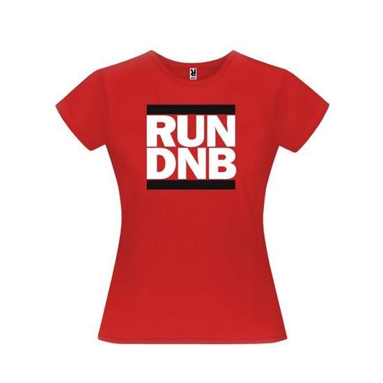 Obrázek z Dámské tričko - RUN DNB - červené - L