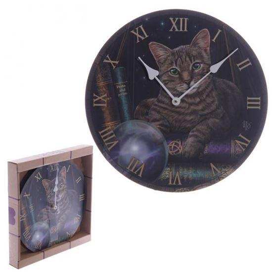Obrázek z Nástěnné hodiny - kočka