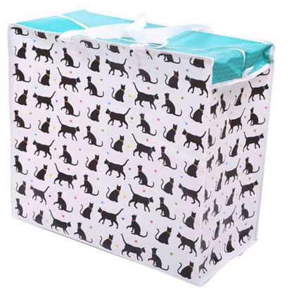Obrázek Taška na špinavé prádlo - motiv kočky