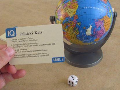 Obrázek Politický kvíz s glóbusem