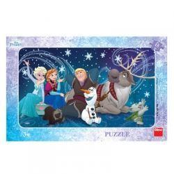 Obrázek Puzzle 15 - Sněhové vločky