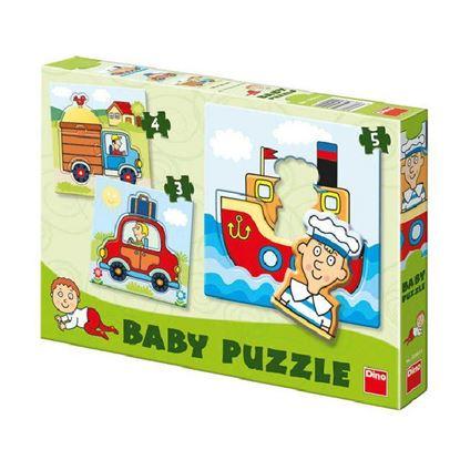 Obrázek Baby puzzle - Dopravní prostředky
