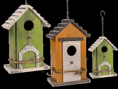 Obrázek Dřevěná ptačí budka