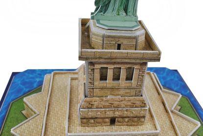 Obrázek 3D puzzle - Socha Svobody
