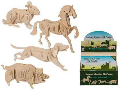 Obrázek 3D puzzle - slon