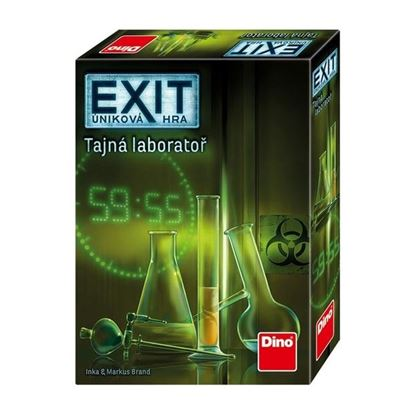Obrázek Úniková hra - Tajná laboratoř