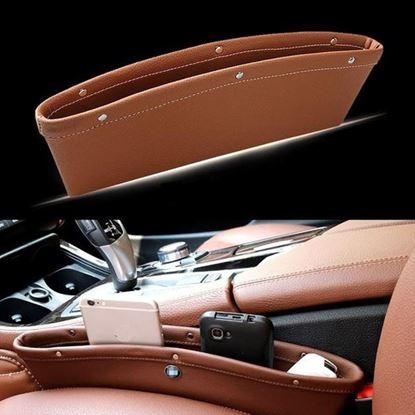 Obrázek Koženkové pouzdro do auta 1 ks