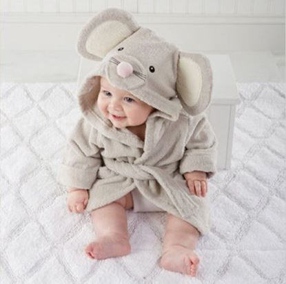 Obrázek Dětský župan - myška