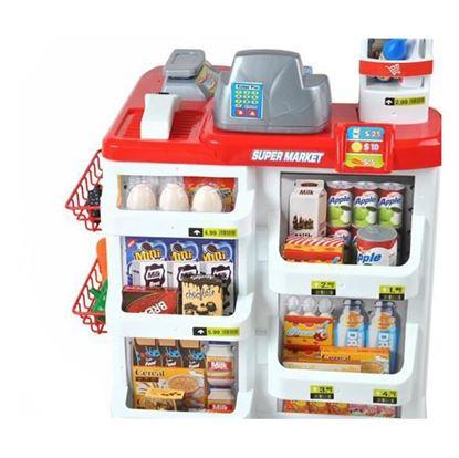 Obrázek Dětský obchod supermarket s nákupním košíkem