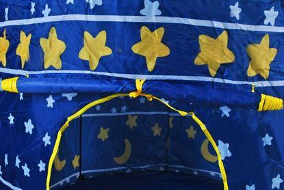 Obrázek Dětský stan v designu hradu