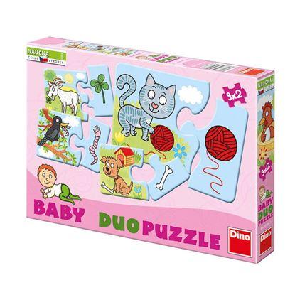 Obrázek Baby puzzle - Zvířátka