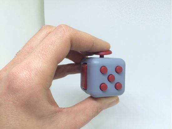 Obrázek z Antistresová kostka fidget cube