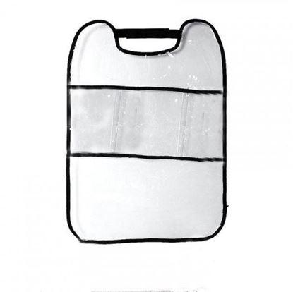 Obrázek Transparentní chránič sedadel s přihrádkami