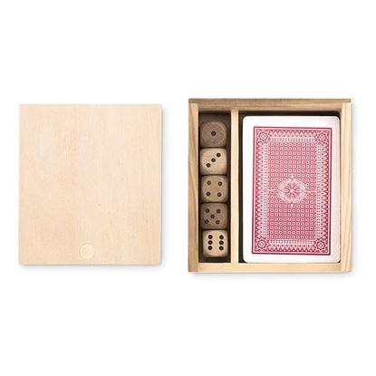 Obrázek Hrací karty s 5 kostkami