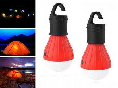 Obrázek LED žárovka - červená