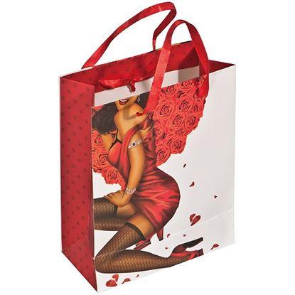 Obrázek Dárková taška s potiskem - žena