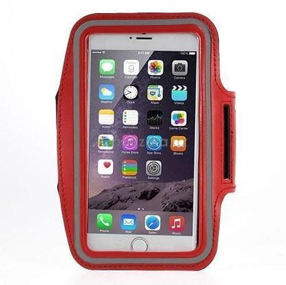 Obrázek Obal na mobil na paži - červená