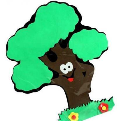 Obrázek Dekorační samolepka na zeď - strom