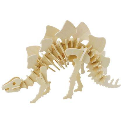 Obrázek 3D puzzle - Stegosaurus