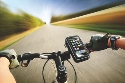 Obrázek Vodotěsný držák mobilu na kolo
