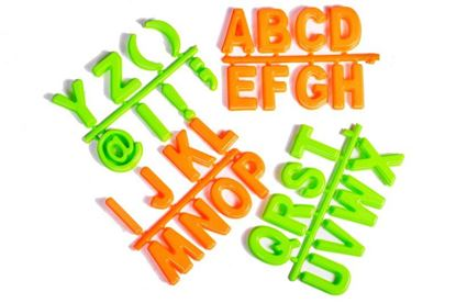 Obrázek Formičky do písku - abeceda