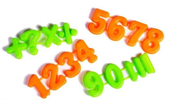 Obrázek z Formičky do písku - číslice