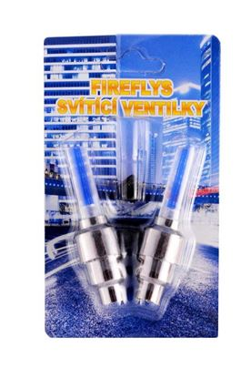 Obrázek Svítící ventilky 2 ks - modré