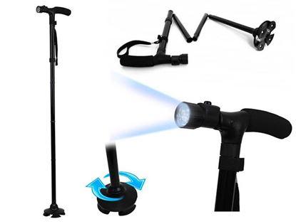 Obrázek Vycházková skládací hůl se světlem
