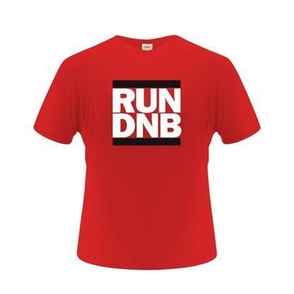 Obrázek Pánské tričko - RUN DNB - červené - XL