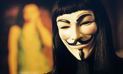 Obrázek Maska V jako Vendeta