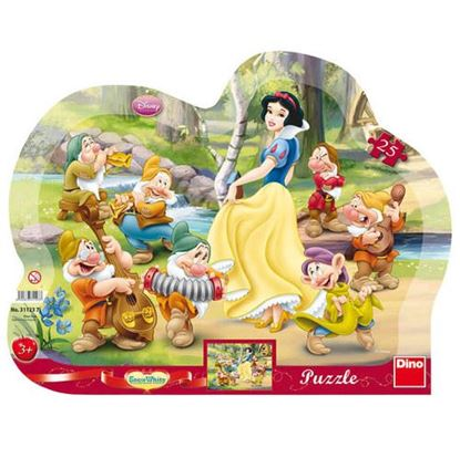 Obrázek Puzzle 25 - Sněhurka