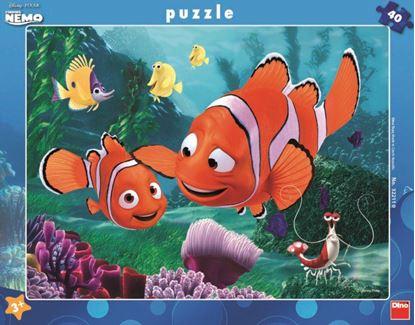 Obrázek Puzzle 40 - Nemo v bezpečí