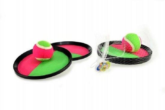 Obrázek z Catch ball set - 2 talíře s míčkem