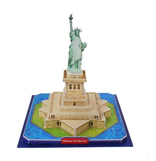Obrázek z 3D puzzle - Socha Svobody