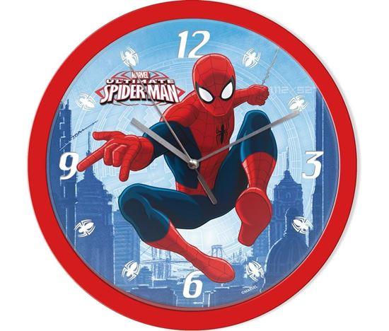 Obrázek z Nástěnné hodiny Spiderman