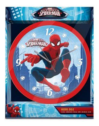 Obrázek Nástěnné hodiny Spiderman