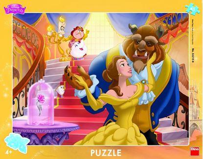 Obrázek Puzzle 40 - Kráska a zvíře