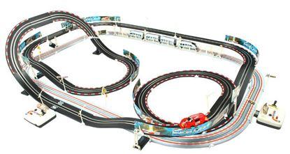 Obrázek Racing autodráha 630 cm + autíčko + vláček