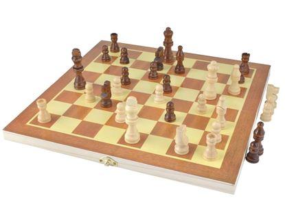 Obrázek Dřevěné šachy
