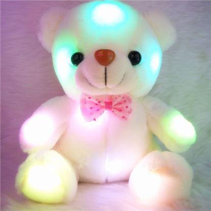 Obrázek Svítící medvídek - bílý