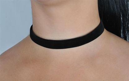 Obrázek Semišový náhrdelník - choker