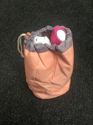 Obrázek Cestovní taška na kosmetiku - pudrová