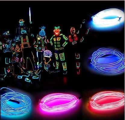 Obrázek Neonová párty šňůrka