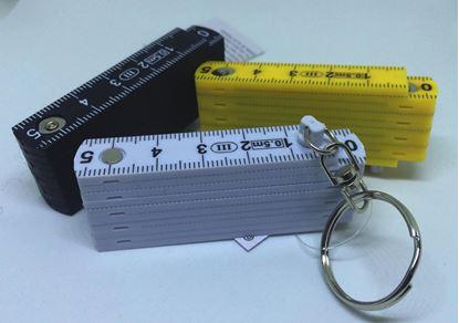 Obrázek Přívěšek na klíče - skládací metr